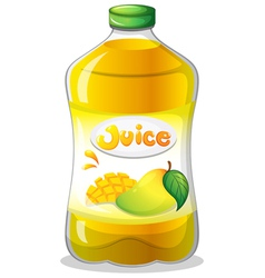 A bottle of juice vector image