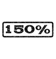 150 percent watermark stamp vector image vector image