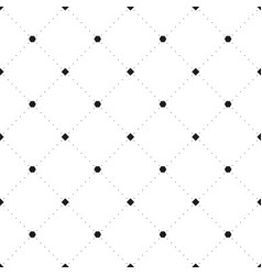 abstract square grid pattern white background vect vector image