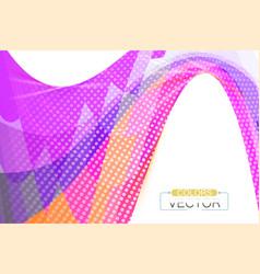 Colors modern shape scene vector