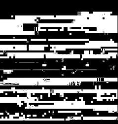 grunge glitched texture vector image