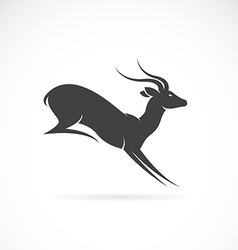 Image of deer design vector
