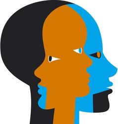 Inner Beings vector image vector image