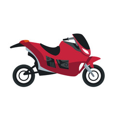 Racing motorcycle speed extreme action motor side vector