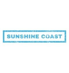 Sunshine Coast Rubber Stamp vector