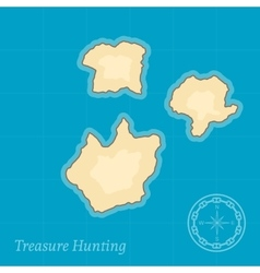 Treasure Map Background vector