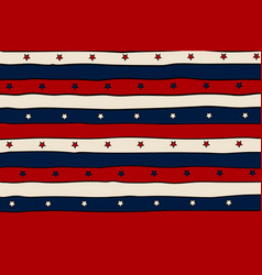 vintage patriotic background with red lines and vector image