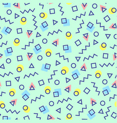abstract geometric background with different vector image