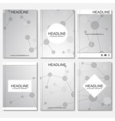 Modern design for brochure booklet flyer cover vector