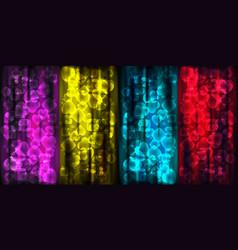 magic set of poker textures vector image