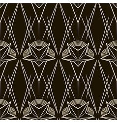 Seamless antique pattern ornament geometric art vector image