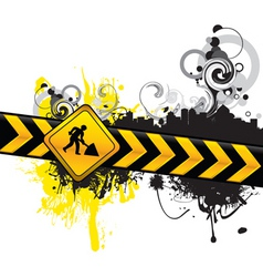 digging background vector image vector image