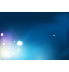 Blue shiny sky modern abstract light background vector image