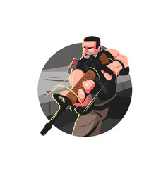 Man from special forces vector