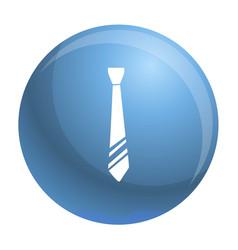 Necktie clothes icon simple style vector