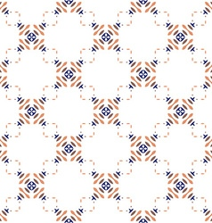 Perfect graphical seamless pattern geometrical vector