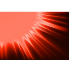 Red abstract sunshine vector