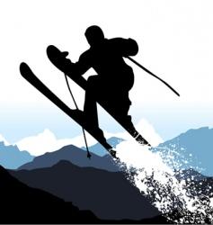 ski vector image vector image
