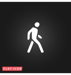 Pedestrian flat icon vector
