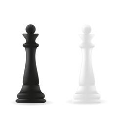 Queen chess piece vector image vector image