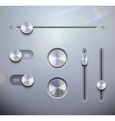 UI elements vector image