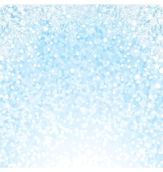 Christmas Snowflakes Background Background vector image vector image