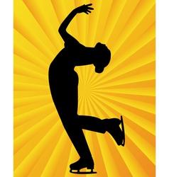 Figure skater5 vector