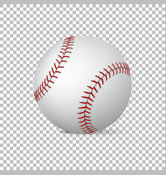 realistic baseball isolated design vector image