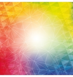 Background design Polygon icon Abstract and vector