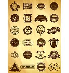 Big set of vintage labels vector
