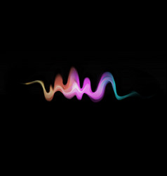 colorful dynamic wave vector image