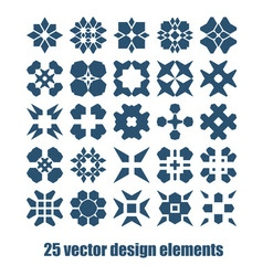 Design elements set Abstract symbols collection vector image