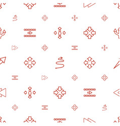 Forward icons pattern seamless white background vector