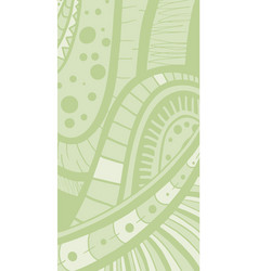 green cover vector image