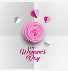happy women s day poster design vector image