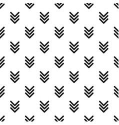 pointing arrow pattern seamless vector image