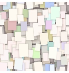 seamless paper note background vector image vector image