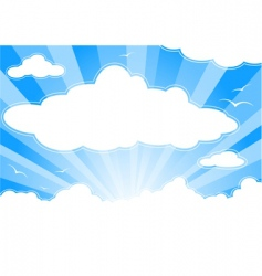 Skyscape vector