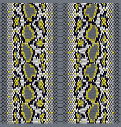 structure snake skin seamless pattern for vector image