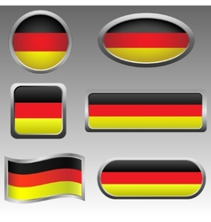 Germany signs vector image
