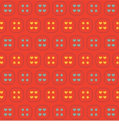 Colorful Hearts And Graphic Seamless Pattern vector image