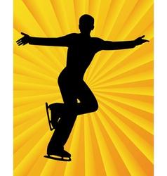 figure skater6 vector image