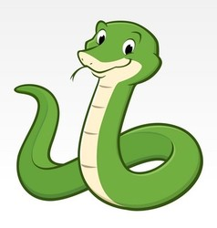 Cartoon Snake vector image
