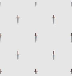 dagger seamless pattern vector image