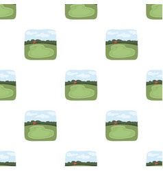 Golf coursegolf club single icon in cartoon style vector