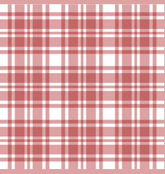 plaid seamless pattern vector image