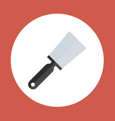 spatula icon working hand tool equipment concept vector image