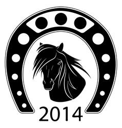 symbol new year vector image