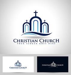 Church Logo vector image vector image