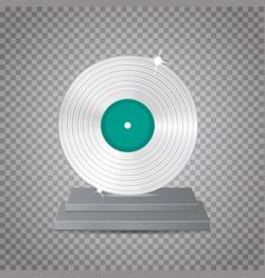 lp platinum vector image vector image